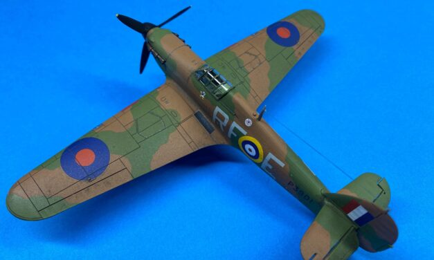 Hurricane Mk I Model Kit – Gallery – Paul O'Donovan