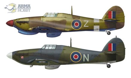 """The Hurricanes of 318 """"City of Gdańsk"""" Squadron"""