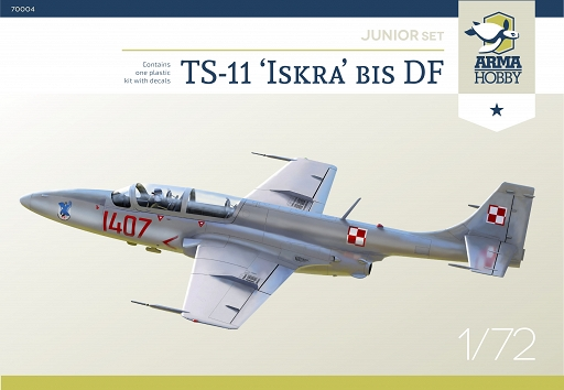 Two new TS-11 Iskra 1/72 scale kits