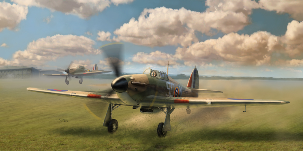 Hurricane Mk I Model Kit – project overview