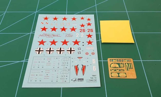 Yak-1b Expert Set – moulds, decals and accesoriess