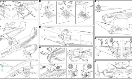 Yak-1b Expert Set kit instruction