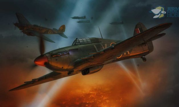 Hurricane Mk IIc  1/72 scale kit announcement