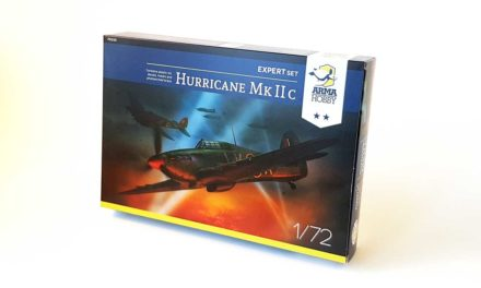 Hurricane Mk IIc – model project finished