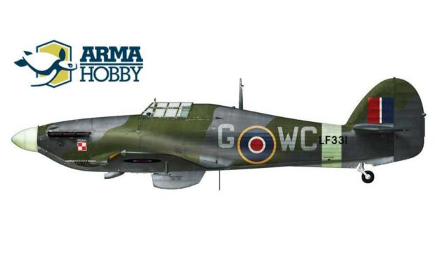 Hawker Hurricane Mk.IIc in No 309 Squadron Polish Air Force