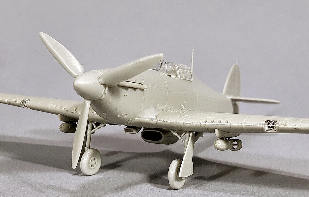 New Arma Hobby 1/72 scale kit announced – Hurricane Mk IIb