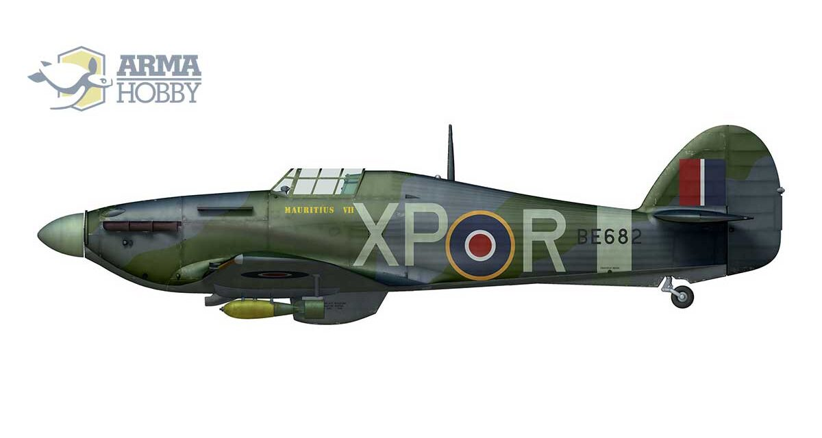 Hurribomber Mk. IIb from 174 squadron RAF