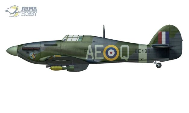 Hurribomber BE489 From No. 402 (Canadian) Squadron