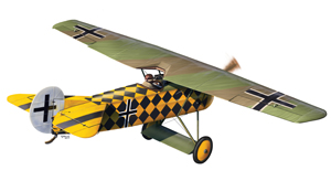 Announcement of the Fokker E.V model 1/72 scale