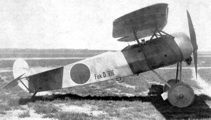 Dutch Fokker D.VIII