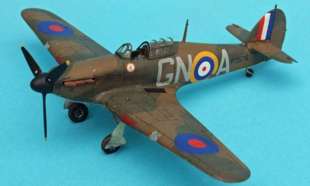 Hurricane Mk I Battle of Britain – Galeria – Tony O'Toole