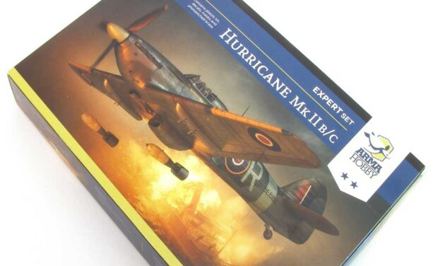 Hurricane II b/c inbox review on KFS Miniatures