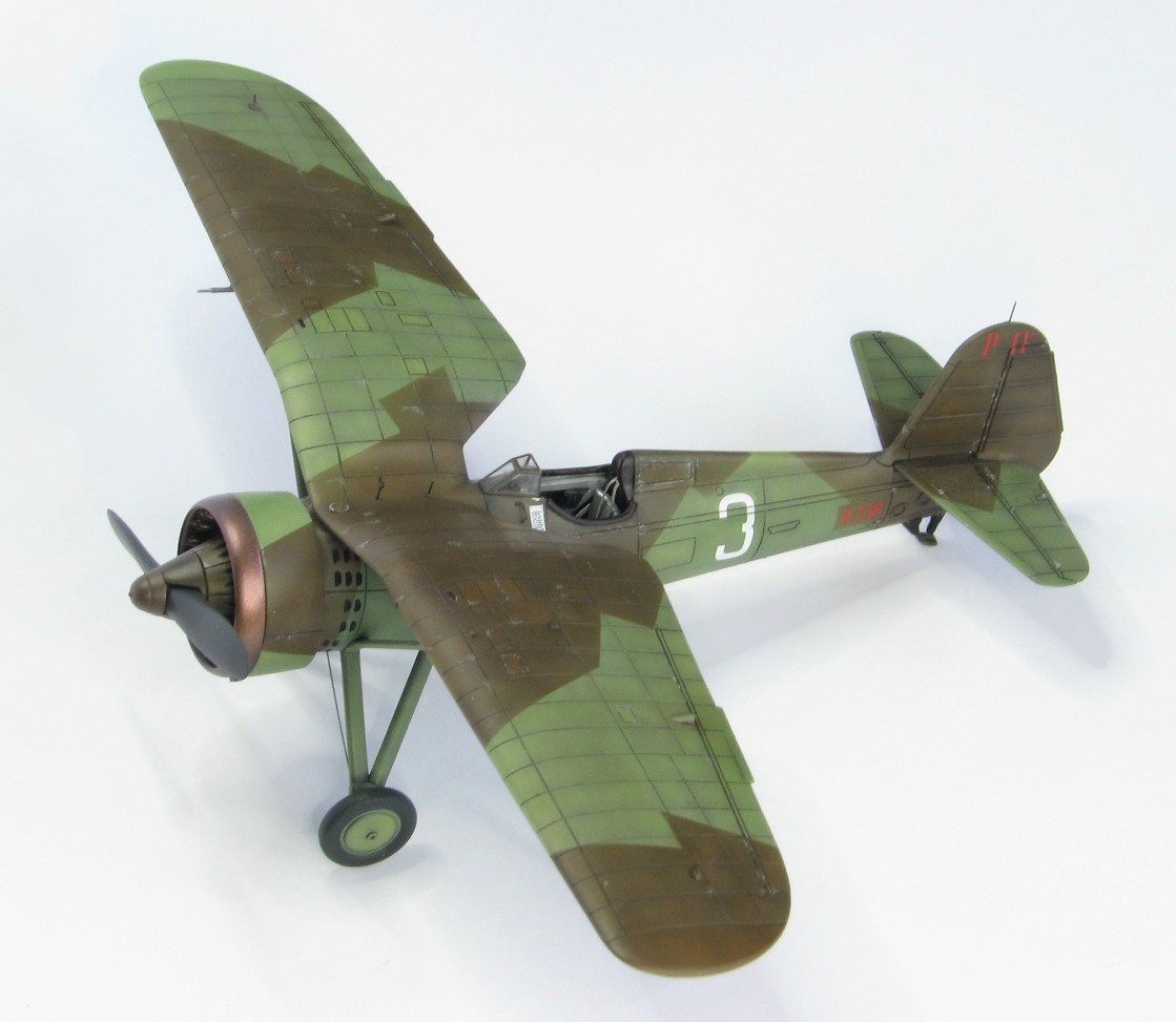 "P.11c ""camouflaged 3"" – built model gallery"