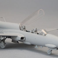 TS-11 Iskra – 1/72 model built from test shots