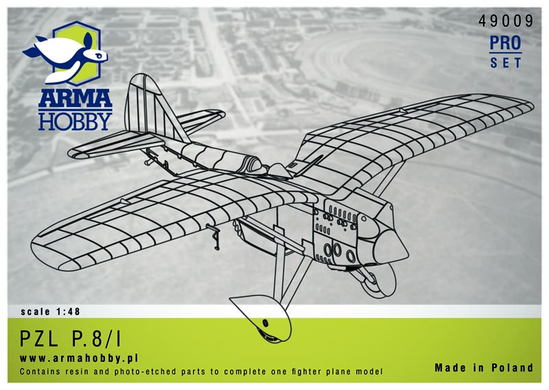 PZL P.8/I – Resin Kit 1/48