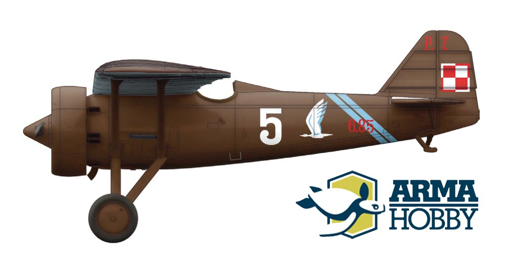 PZL P.7a of 2nd Lieutenant E. Kawnik, 123. Fighter Squadron, 1939