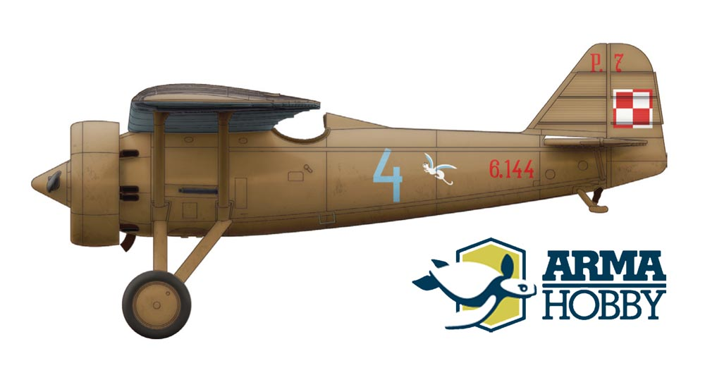 "PZL P.7a – ""City of Lwów"" squadron against Wehrmacht spearhead"