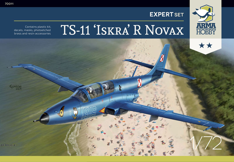 TS-11 R Novax, plastic model kit 1/72