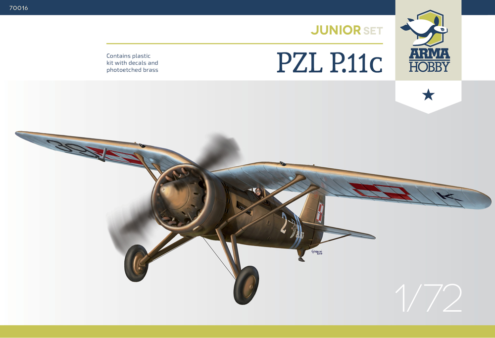 P.11c Junior set 1/72