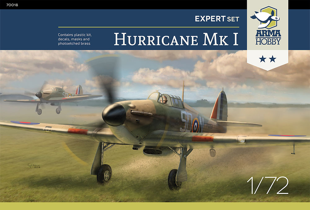 Reviews of the Hurricane Mk I from Arma Hobby