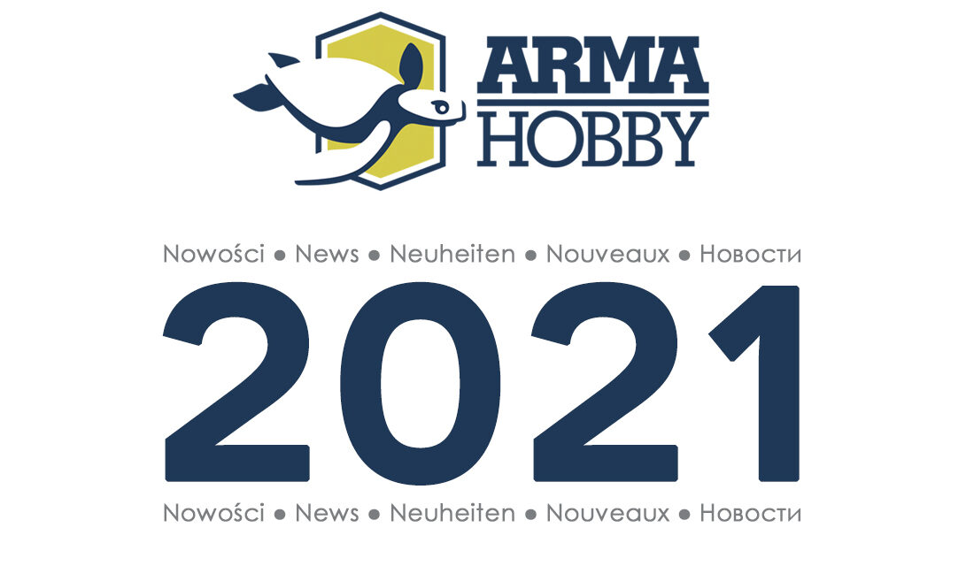 Arma Hobby – new kit announcements for 2021
