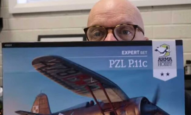 1/48 scale PZL P.11c inboxing video by Brett Green