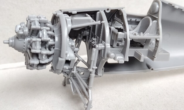 The new Wildcat from Arma Hobby – fuselage interior