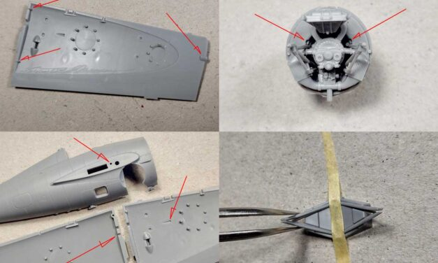 Building the F4F-4 Wildcat – notes from the model designer