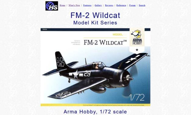 FM-2 Wildcat Model Kit- Recenzja – Hyperscale
