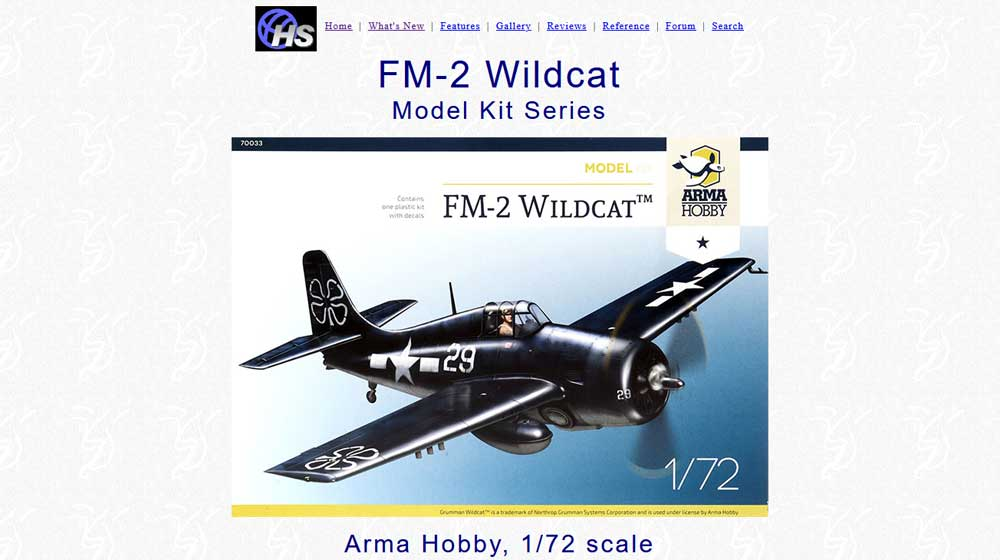 FM-2 Wildcat Model Kit- Review – Hyperscale