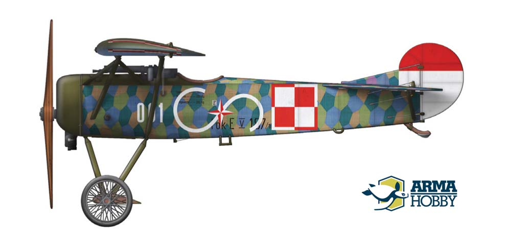 Fokker E.V – colour schemes from Expert & Junior set