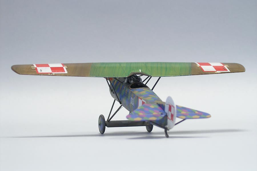 Fokker E.V – built model kit from Arma Hobby 1/72