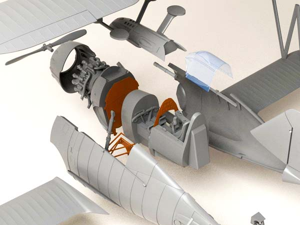 Grumman F2F-1 model 1/48 scale – preorder!