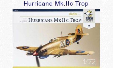 Hurricane Mk IIc trop Model Kit – recenzja – Hyperscale