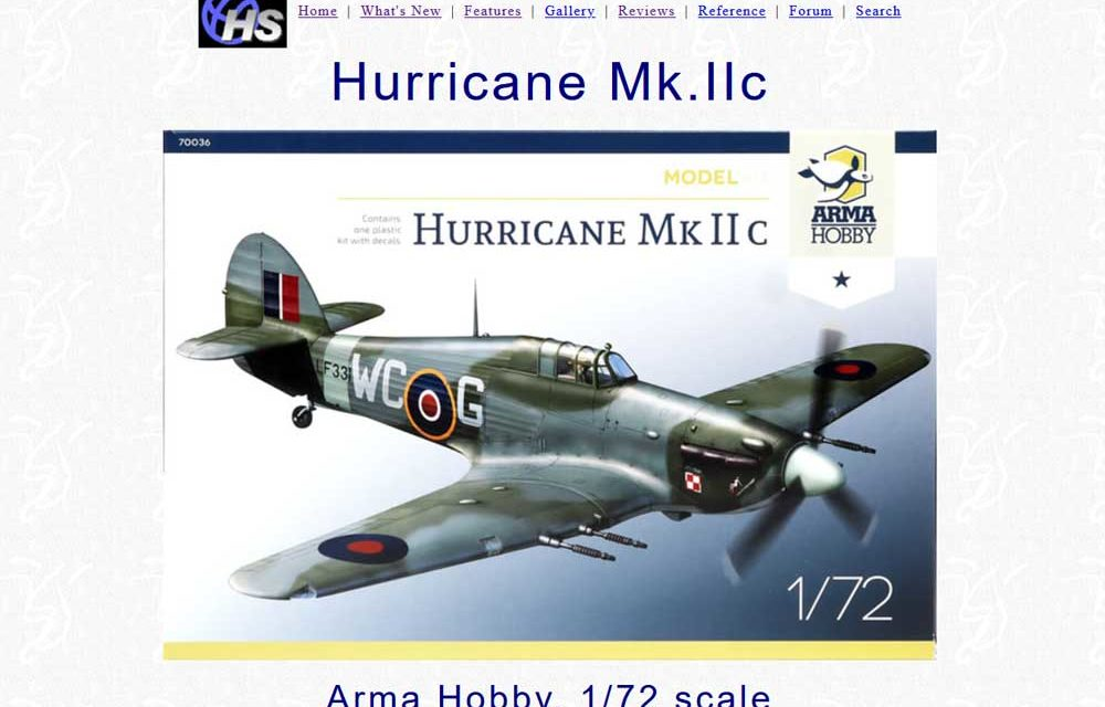 Brett Green recenzuje na Hyperscale zestaw Hurricane Mk IIc Model Kit