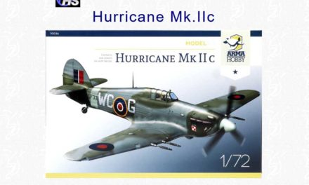 Brett Green reviews Hurricane Mk IIc Model Kit on Hyperscale