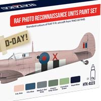 RAF PRU Spitfire color set – cooperation Hataka Hobby and Attack Squadron