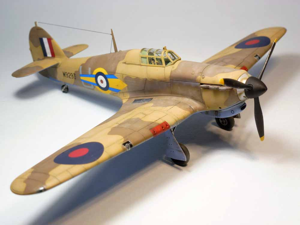 Hurricane I trop from 73 Squadron – Gallery – Thibault Choquart