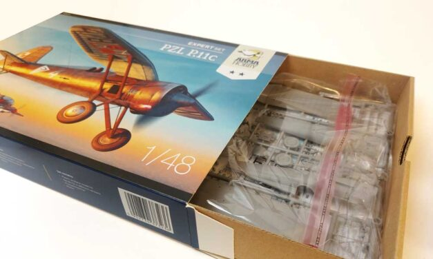 PZL P.11c Expert Set 1/48 – what's in the box?