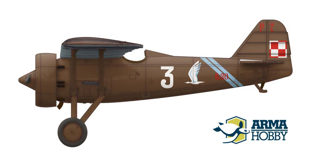 PZL P.7a – Deluxe set Markings Options