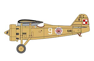 PZL P.7a colours and markings