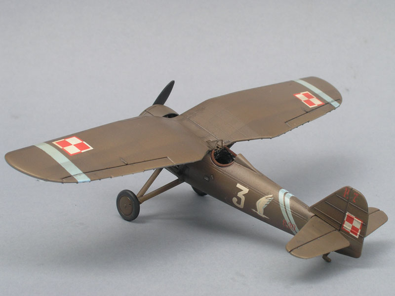 PZL P.7a Deluxe Set – model gallery