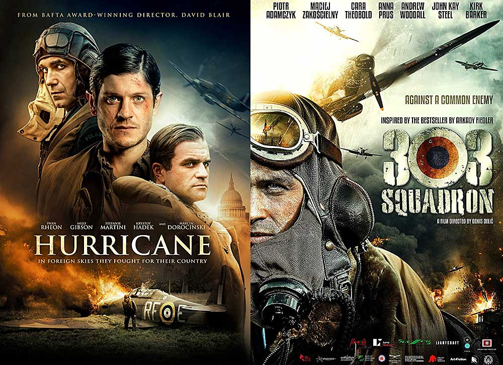 Two movies about 303 Squadron