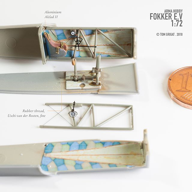 Modelling Magic – a movie with the Fokker E.V model