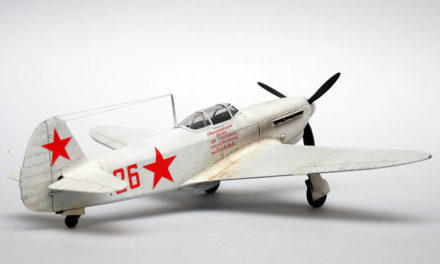 Yak-1b model quick built – in 10 hours!