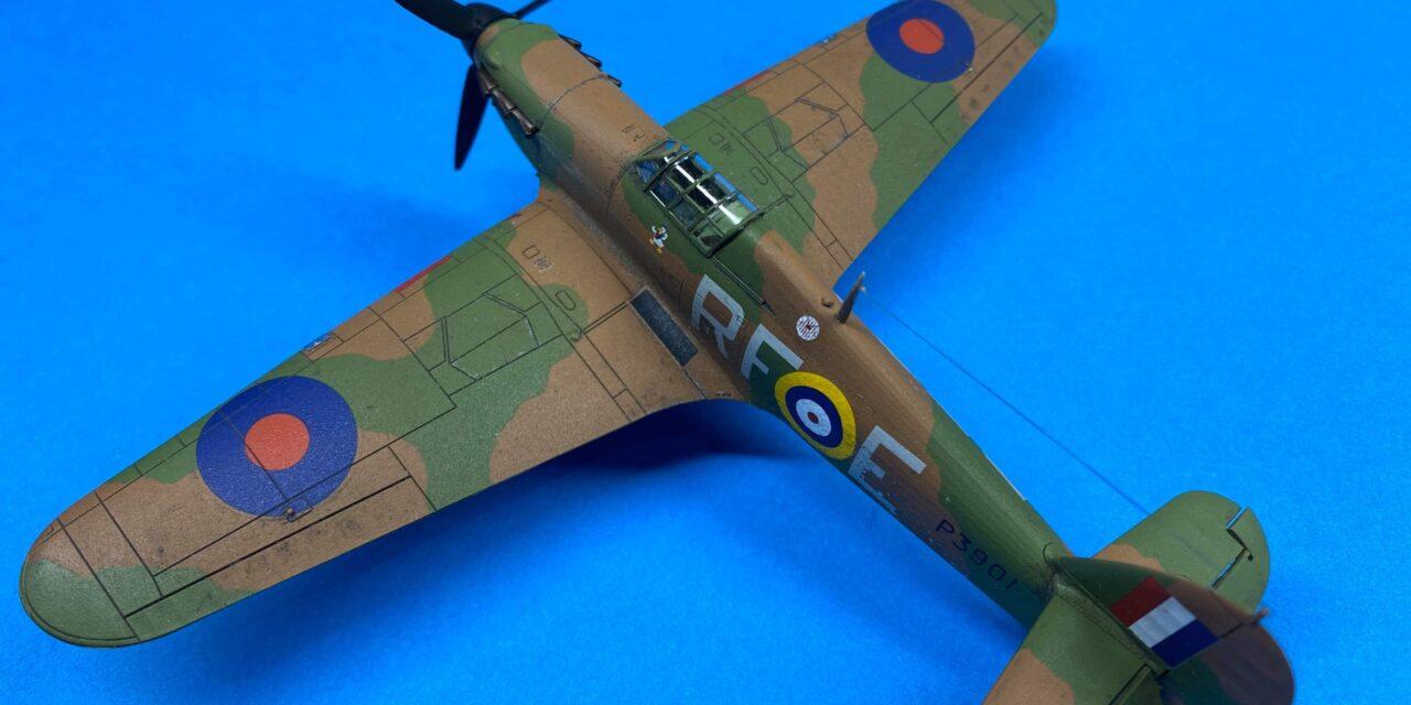 Hurricane Mk I Model Kit – Gallery – Paul O'Donovan