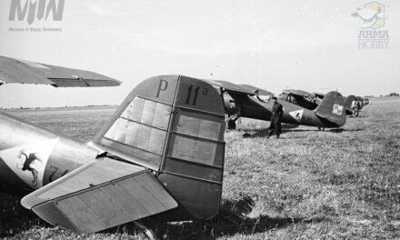 Samoloty Brygady Pościgowej w obiektywie Henryka Poddębskiego