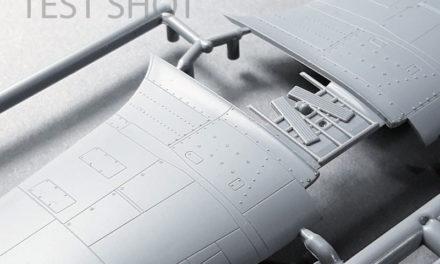 Test shots of the Hurricane Mk IIc