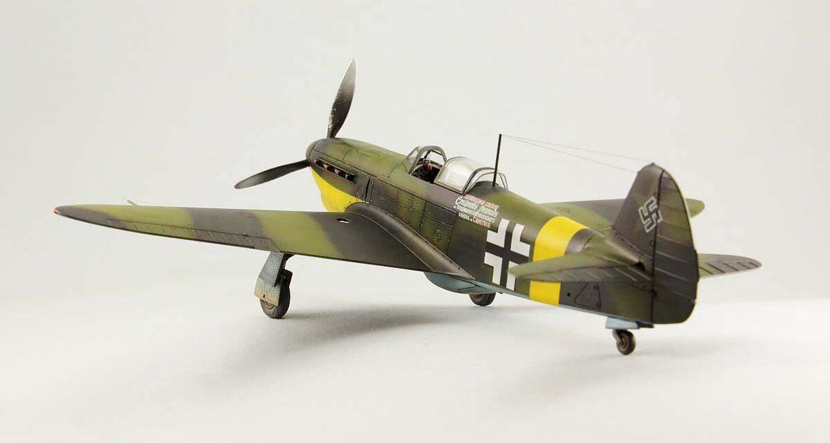 Robert Wójcik skleja Jak-1b w barwach Luftwaffe – krok po kroku