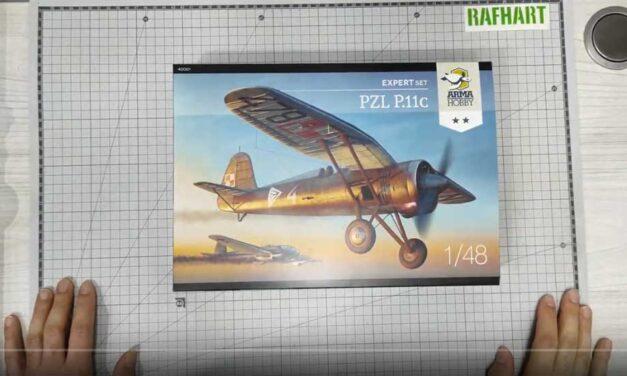 Recenzje modelu PZL P.11c Expert Set 1/48